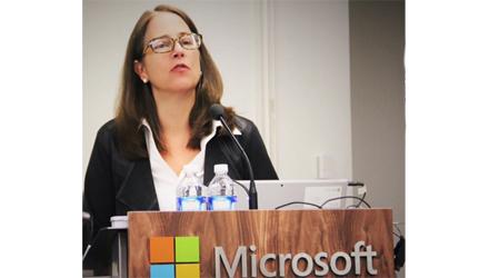Adrienne at Microsoft